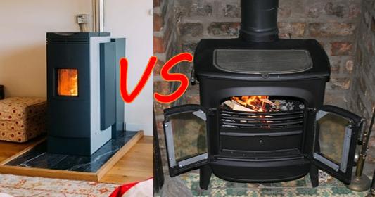 Estufa de pellet o estufa de leña ¿Cuál escoger?